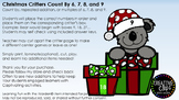 Christmas Critter Count By, Repeat Addition, Multiples of