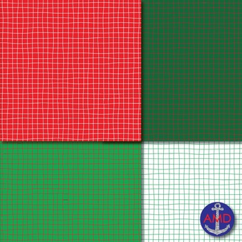 Christmas Crosshatch Paper Pack for Bulletins, Backgrounds & More