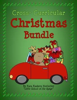 Christmas Cross-Curricular Bundle * Includes Task Cards