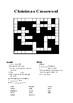 Christmas Crossword BUNDLE