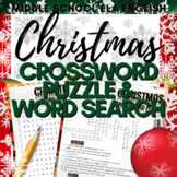 Christmas Activity: Crossword Puzzle