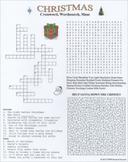 Christmas Crossword Wordsearch Maze