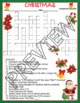 Christmas Activities Crossword Puzzle and Word Search Find