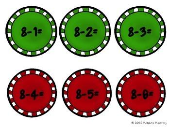 Christmas Math Station Number Games {Kindergarten}