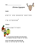 Christmas Cryptogram Riddle