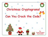 Christmas Cryptograms, Can You Crack the Code?