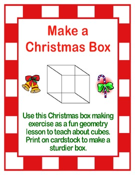 Christmas Cube Lesson