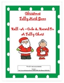 Christmas Cube Tally Mark Game