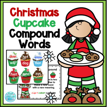 Christmas Cupcake Compound Words