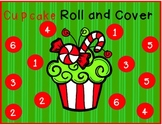 Christmas Cupcake Roll and Color/ Cover