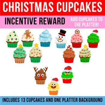 Christmas Cupcakes | Incentive Reward Activity  | VIPKid, Classroom, Small Group