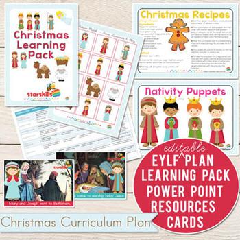 Christmas Curriculum Plan