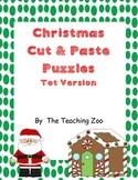 Christmas Cut & Paste Puzzles