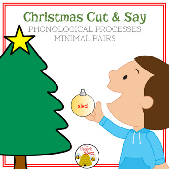 Christmas Cut Say Phonological Processes Free By The Speech Buzz