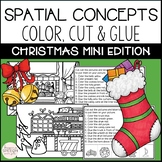 Christmas Cut and Glue Language Activities- Mini Packet