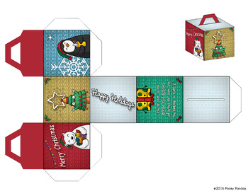 Christmas Mini-Gifters, Cut-Out Boxes
