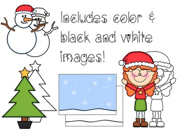 Christmas Cute Kids Clipart