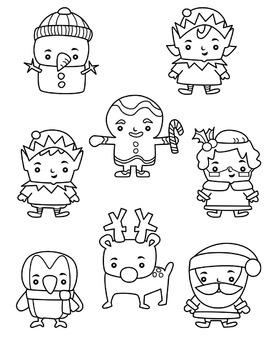 Christmas Cuties Clipart