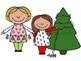 Christmas Cuties Digital Clip Art Set