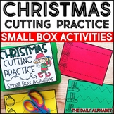 Christmas Cutting Practice: Small Box Activities