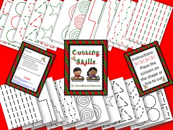 Christmas Cutting Skills