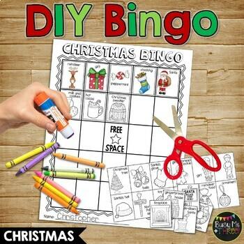 Christmas Bingo DIY {DO IT YOURSELF}