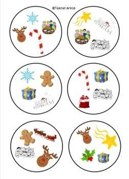 Christmas DOBBLE/SPOT IT