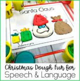Christmas DOUGH Fun for Speech & Language