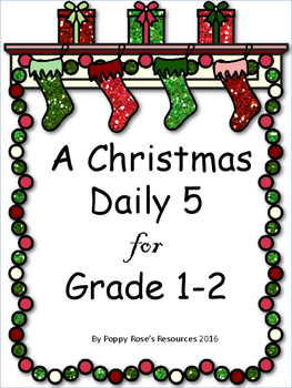 Christmas Daily 5 Literacy Block