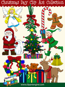 Christmas Day Clip Art Collection