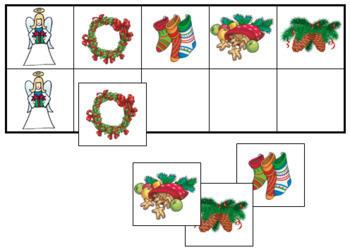 Christmas Match-Up and Memory