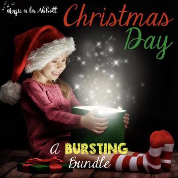 Christmas Music:Christmas Day, a BURSTING Bundle of Musical Games {2016 edition}