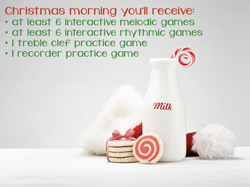 Christmas Music:Christmas Day, a BURSTING Set of Musical Games {2016 edition}