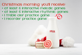 Christmas Day: a BURSTING Bundle of Musical Games {2015, completed bundle}