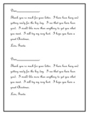 Christmas Dear Santa and Contractions