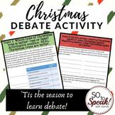 Christmas Debate Activity
