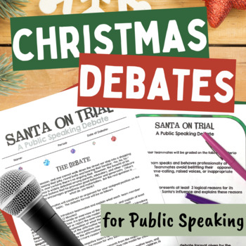 Christmas Debates for Public Speaking