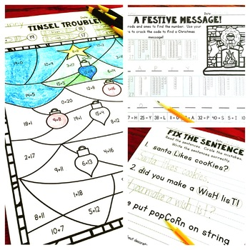 Christmas Activities for First Grade
