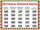 Christmas Decimal Bundle - Worksheets, Task Cards and PowerPoint Game