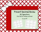 Christmas Decimal Present Review