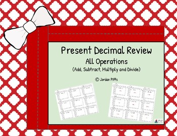 Christmas Decimal Present Review