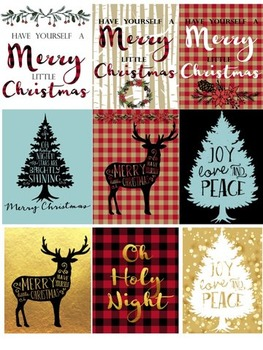 Christmas Decor-Framed Gifts for Teachers, Co-Workers, Friends, Family