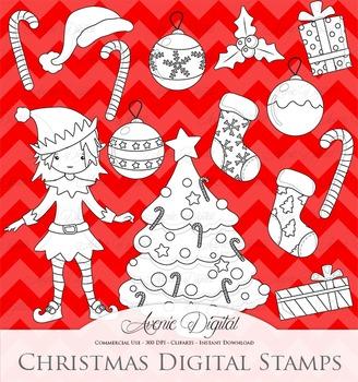 Christmas Decoration Clipart Vectors