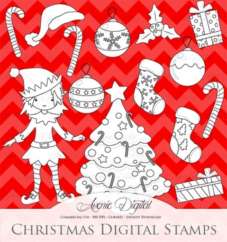 Christmas Decoration Clipart Vectors