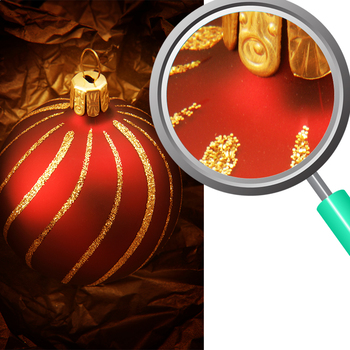 Christmas Decoration Photos / Photograph Clip Art Set for Commercial Use