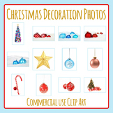 Christmas Decoration Photos / Photograph Clip Art for Commercial Use