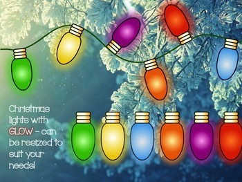 Christmas Decorations and Lights clipart BUNDLE!
