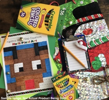 Christmas: Derivatives REVIEW Pixel Art Mystery Pictures
