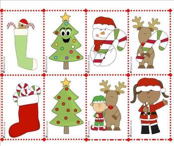 Christmas Describing Bingo