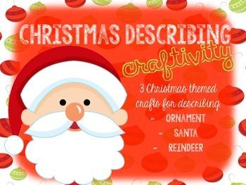 Christmas Describing Craftivity FREEBIE